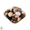 50斤装天然鹅卵石铺路雨花石原石彩色石头庭院铺地白鹅软暖石造景