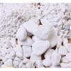 白色石子石头大鹅卵石庭院铺路铺地小白石头枯山水小白石子
